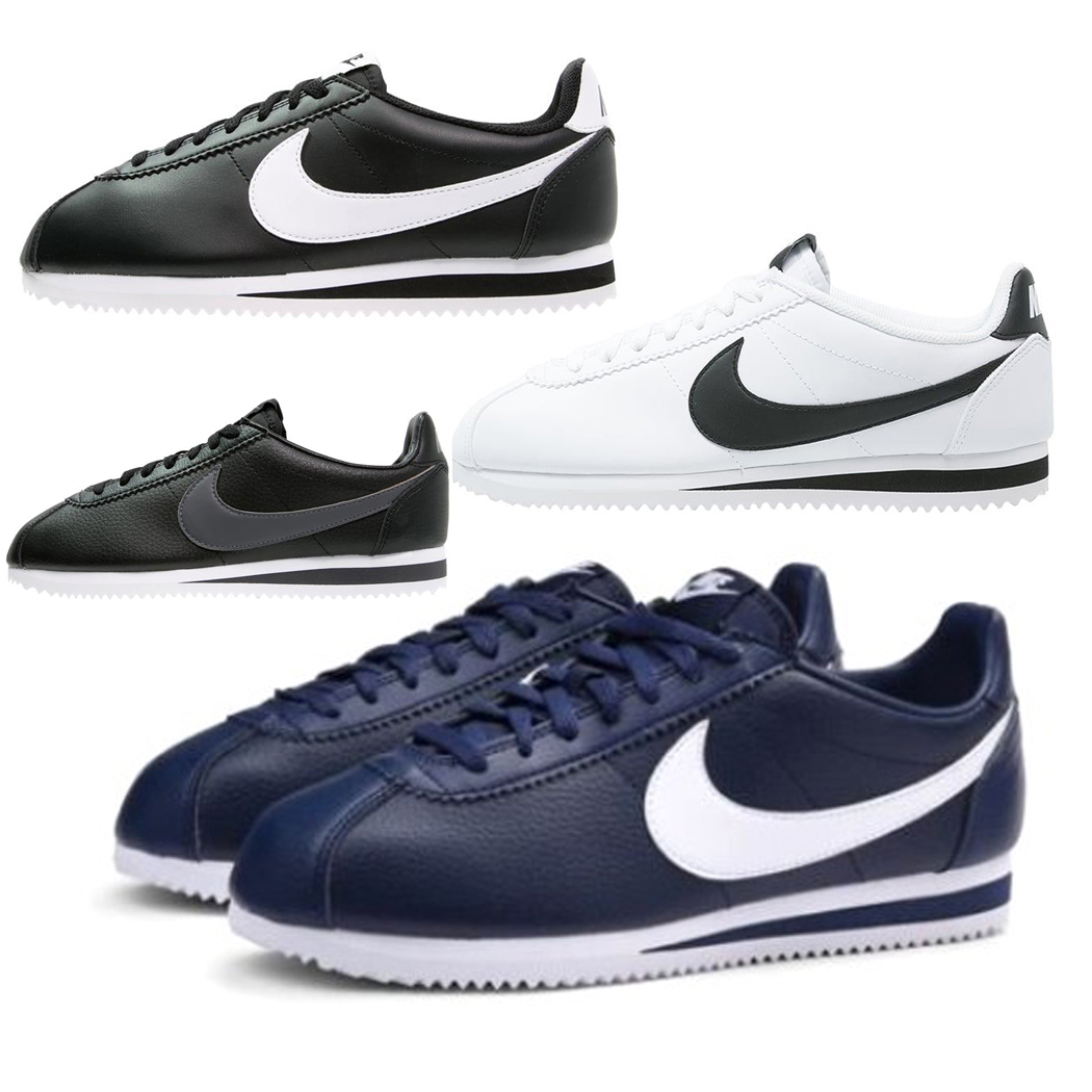 NIKE SCARPE SNEAKERS UOMO DONNA SHOES CORSA SPORT CLASSIC CORTEZ LEATHER