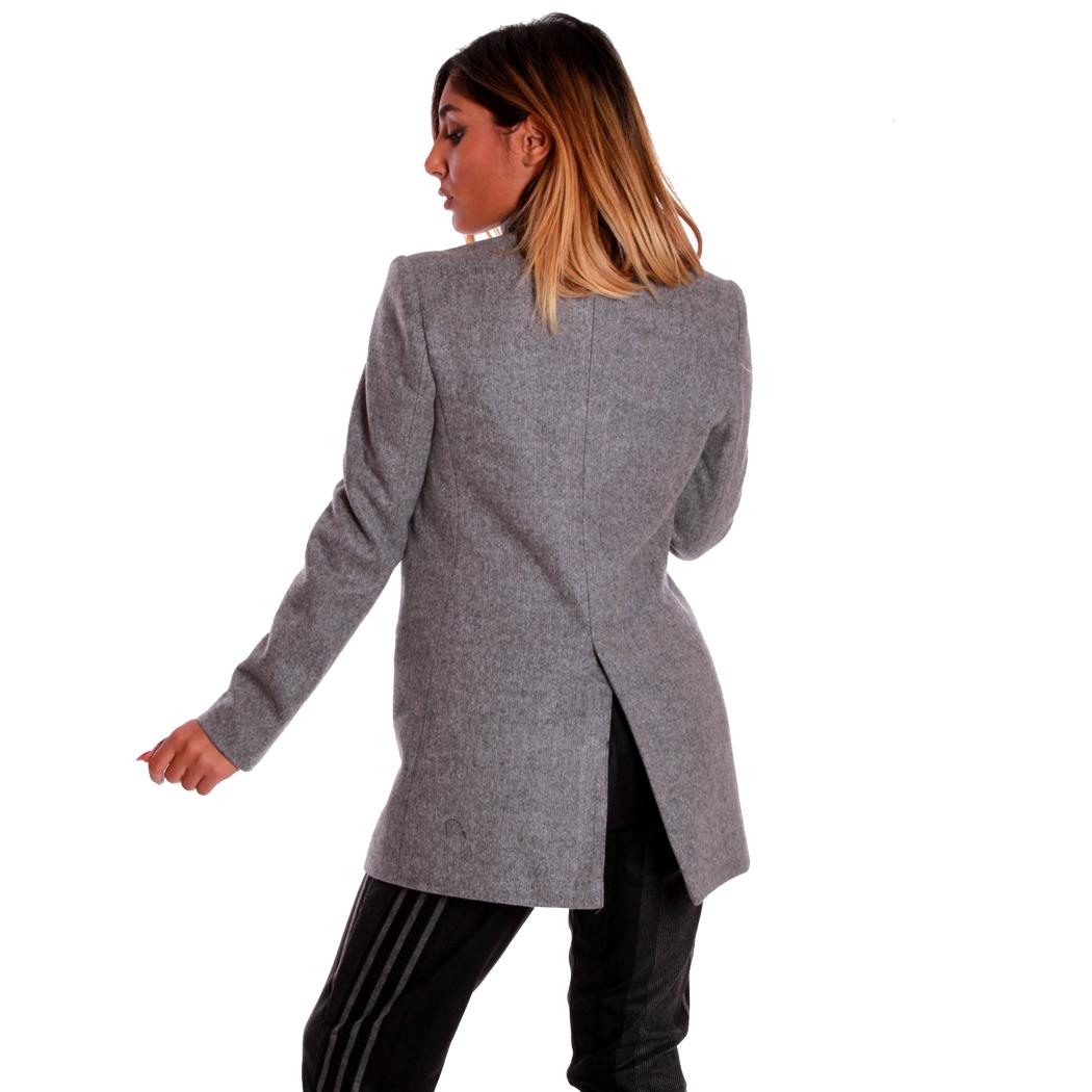Sexy C2400 Giacca Jacket Donna Cappotto Moda Ragazza Lunga Coconuda zBFqWTCW