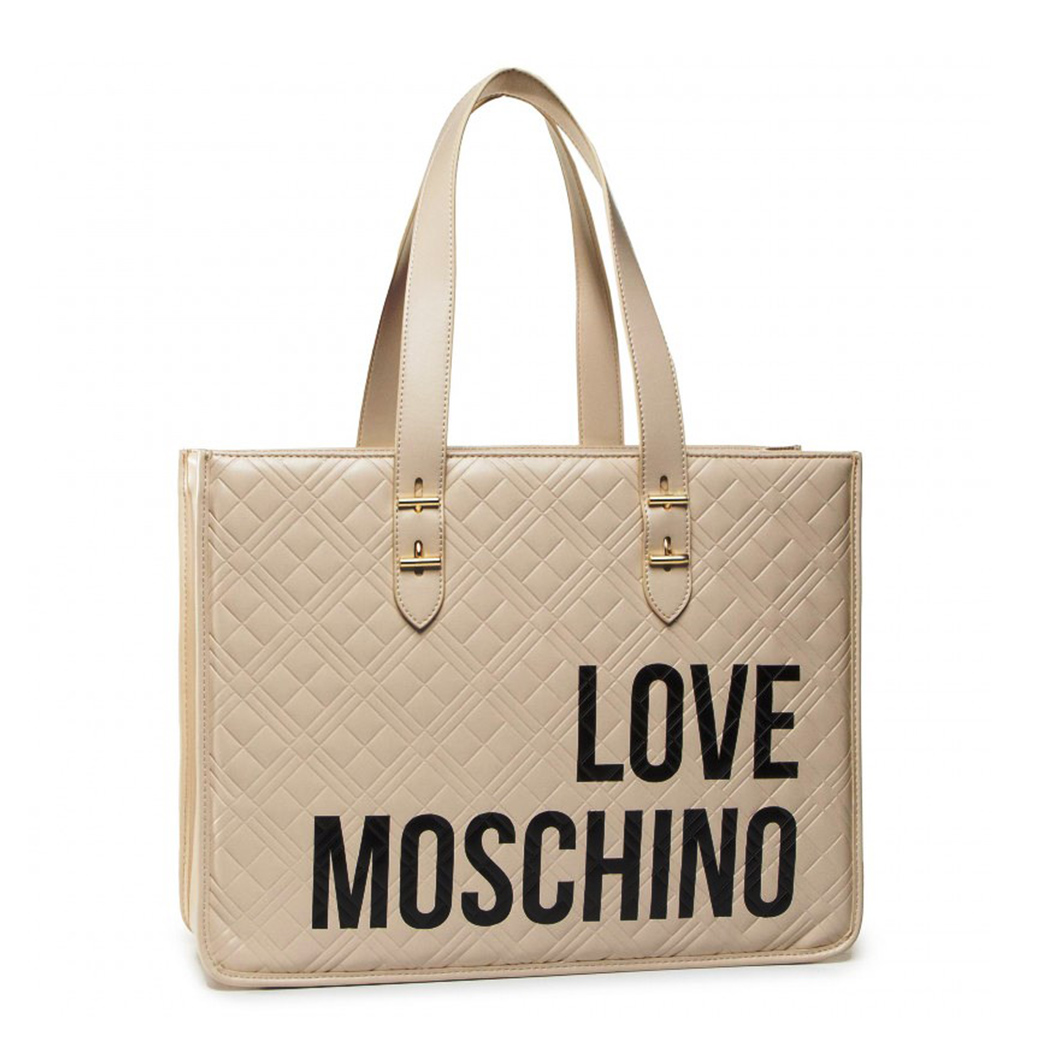 LOVE MOSCHINO BORSA DONNA A SPALLA MANO SHOPPER BAG BORSETTA JC4209PP0AKA110A