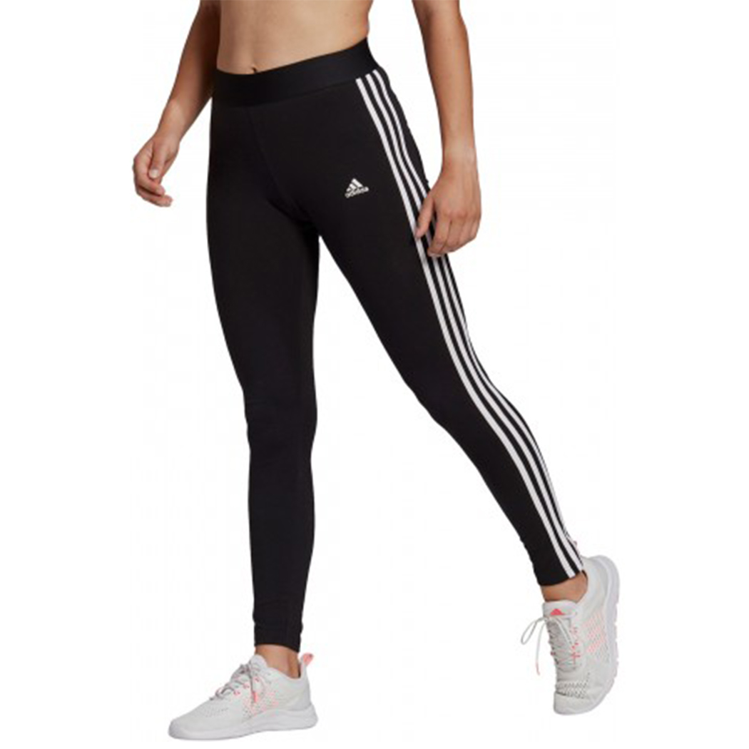 ADIDAS LEGGINGS LOUNGEWEAR ESSENTIALS 3-STRIPES PANTALONI DONNA SPORT RUN GL0723