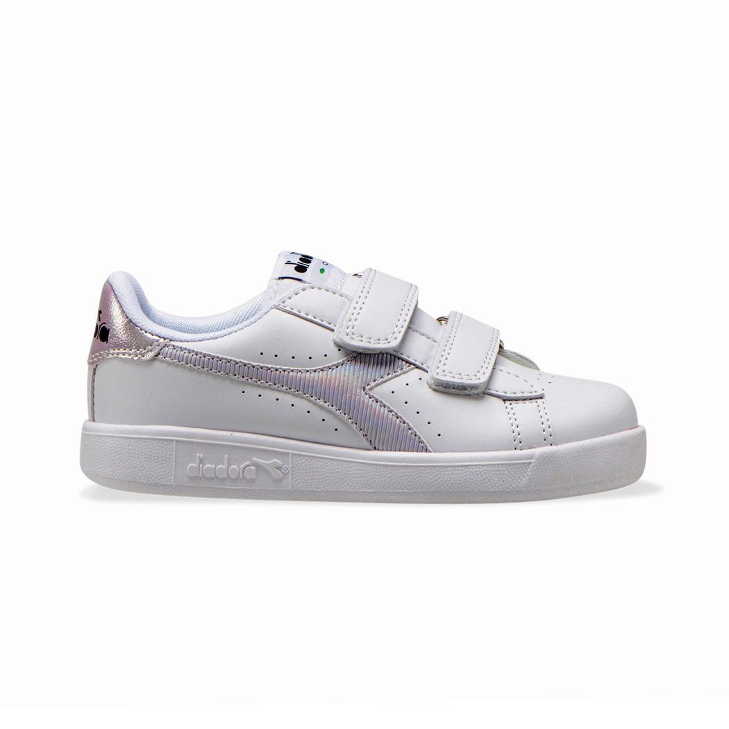 DIADORA GAME P TD GIRL SCARPE SNEAKERS BAMBINA STRAPPO SPORT RUN 101.177018