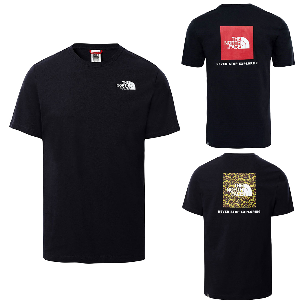 THE NORTH FACE T-SHIRT COTONE UOMO RED BOX TEE MAGLIA LOGO PICCOLO NF0A2TX2