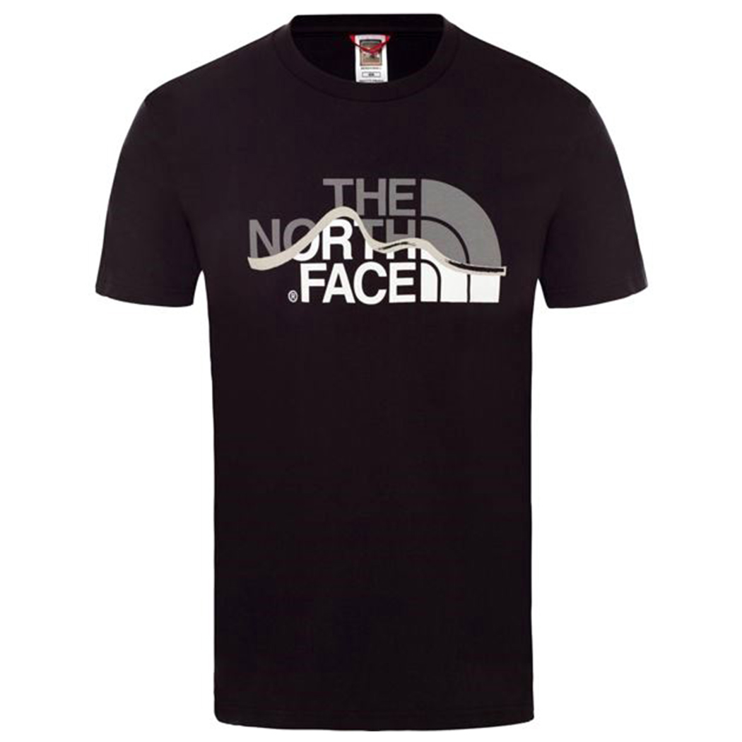 THE NORTH FACE T-SHIRT COTONE UOMO MOUNTAIN LINE TEE MAGLIA BOY NF00A3G2JK31