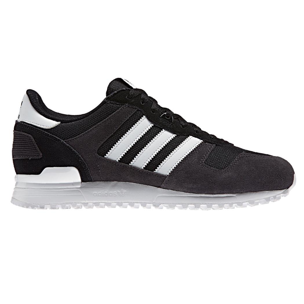 ADIDAS ZX 700 Uomo Scarpe Da Uomo ORIGINALS Sneaker Scarpe da ginnastica BLACK NUOVO bb1211