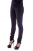 FREESOUL - PANTALONI DONNA STRECH SLIM FASHION 5 TASCHE VELLUTO NERO art. P71716