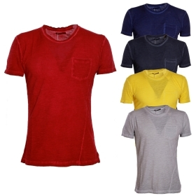 YES-ZEE - T-SHIRT UOMO MAGLIA COTON