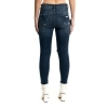 STARTUP JEANS PANTALONE DONNA STRETCH LUREX SEXY CON TOPPE CARPET JD2001