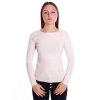 COCONUDA MAGLIA DONNA COLLO A BARCA STRETCH LANA SWEATER T-SHIRT GIRL F9913N