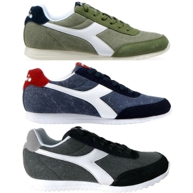 DIADORA JOG LIGHT C SCARPE SNEAKERS UOMO TELA CANVAS SHOES SPORT 101.171578