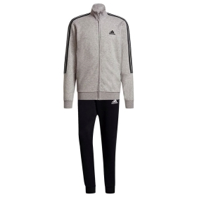 ADIDAS COTTON RELAX TUTA SUIT UOMO FELPA SPORT COMPLETO 3 STRIPES RUN GK9975