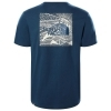THE NORTH FACE T-SHIRT COTONE UOMO REDBOX CELEBRETION TEE MAGLIA NF0A2ZXEBH71
