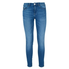 YES ZEE JEANS PANTALONI DONNA GIRL SKINNY SLIM FIT 5 TASCHE STRETCH P306/X617